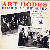 Art Hodes: Friar's Inn Revisited