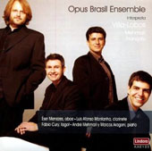 Music for oboe, clarinet & bassoon by Villa-Lobos, Francaix, Mehmari / Opus Brasil Ensemble