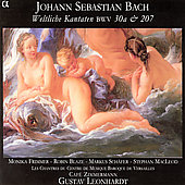 Bach: Cantatas no 30a & 207 / Leonhardt, et al