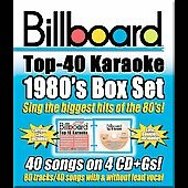 Sybersound: Billboard Top 40 Karaoke: 1980s [Box] [Box] [PA]