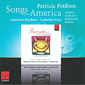 Songs from American / Patricia Petibon, American Boychoir