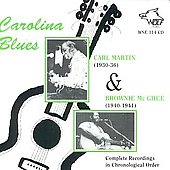 Carl Martin/Brownie McGhee: Carolina Blues *