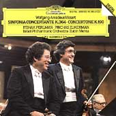 Mozart: Sinfonia Concertante, Concertone / Perlman, Zukerman