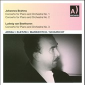 Barhms: Piano Concerto No. 1; Piano Concerto No. 2; Beethoven: Piano Concerto No. 3
