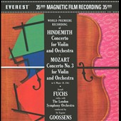Hindemith: Violin Concerto; Mozart: Violin Concerto No. 3