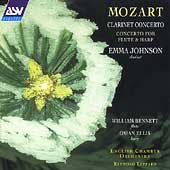 Mozart: Clarinet Concerto, etc / Johnson, Leppard