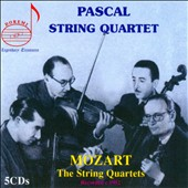 Mozart: The String Quartets / Pascal String Quartet