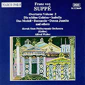 Suppé: Overtures Vol 2 / Walter, Slovak State PO