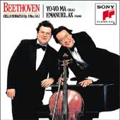 Beethoven: Sonatas for Cello & Piano Vol 1 / Ma, Ax