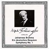 Wilhelm Furtw&auml;ngler conducts Brahms: Requiem, Symphony no. 1