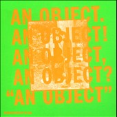 No Age: An  Object [Digipak] *