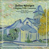 Julius Rontgen: Complete Cello Concertos / Gregor Horsch, cello; Porcelijn