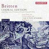 Britten: Choral Edition Vol 2 / Spicer, The Finzi Singers