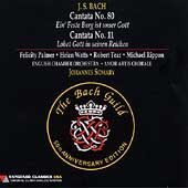 Bach: Cantatas no 80 and 11 / Somary, Palmer, Watts, et al