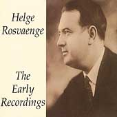 Helge Roswaenge - The Early Recordings