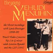 The Young Yehudi Menuhin- Victor Recordings 1928-29