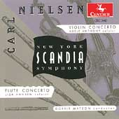 Nielsen: Violin Concerto, Flute Concerto / New York Scandia