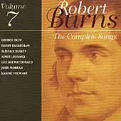 Robert Burns: Complete Songs Vol 7 / Duff, Hulett, et al