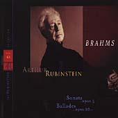 Rubinstein Collection Vol 63 - Brahms: Ballades, etc