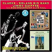 Francy Boland/Jimmy Giuffre/Kenny Clarke-Francy Boland Big Band/Kenny Clarke: Clarke-Boland Big Band/Western Suite