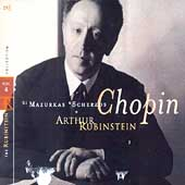 Rubinstein Collection Vol 6 - Chopin: Mazurkas, Scherzos