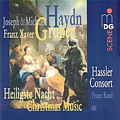 SCENE  Joseph & Michael Haydn, Gruber: Christmas Music