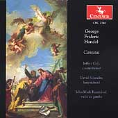 Handel: Cantatas / Jeffrey Gall, D. Schrader, J.M. Rozendaal