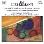 Liebermann: Concerto for Jazz Band and Orchestra, etc