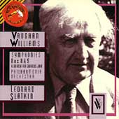 Vaughan Williams: Symphonies 8 & 9, etc / Leonard Slatkin