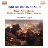 English Organ Music Vol 2 / Donald Hunt