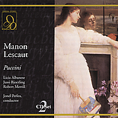 Puccini: Manon Lescaut / Perlea, Bjoerling, Albanese, et al