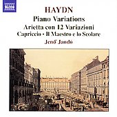 Haydn: Piano Variations, etc / Jen&ouml; Jand&oacute;