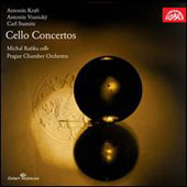 Kraft, Vranický & Stamitz: Cello Concertos / Michal Kanka, cello. Prague Chamber Orchestra
