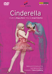Prokofiev: Cinderella / Ballet of the Lyon Nationial Opera, Francoise Joullié, Dominique Lainé, Jayne Plaisted (dancers) [DVD]