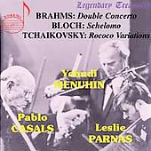 Legendary Treasures - Brahms, Bloch, Tchaikovsky / Menuhin