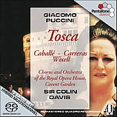 Puccini: Tosca / Davis, Caball&#233;, Carreras, et al