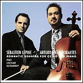 Romantic Cello Sonatas - Ponce, etc / Lepine, Nieto-Dorantes