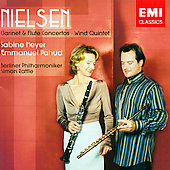 Nielsen: Clarinet and Flute Concertos, Wind Quintet