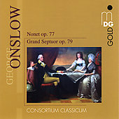 Onslow: Grand Septet Op. 79, Nonet Op. 77 / Irmer, Consortium Classicum
