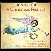 A Christmas Festival / Rutter, Royal Philharmonic Orchestra, Farnham Youth Choir