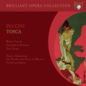 Brilliant Opera Collection - Puccini: Tosca / Callas, de Sabata, di Stefano, Gobbi, et al
