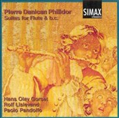 Pierre Danican Philidor: Suites for Flute & b.c.