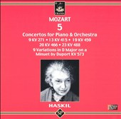 Mozart: 5 Concertos for Piano & Orchestra