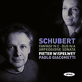 Schubert: Fantasy in C; Duo in A; Arpeggione Sonata