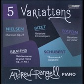 Five Variations / Andrew Rangell, piano