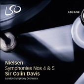 Nielsen: Symphonies Nos. 4 & 5