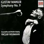 Mahler: Symphony no 9 / Neumann, Gewandhausorchester