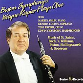 Wayne Rapier Plays Oboe / Amlin, Colton, Swanborn, Rapier