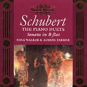 Schubert: Piano Duets Vol 1 / Nina Walker, Adrian Farmer