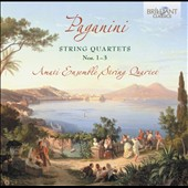 Paganini: String Quartets Nos. 1-3 / Amati Ensemble String Quartet